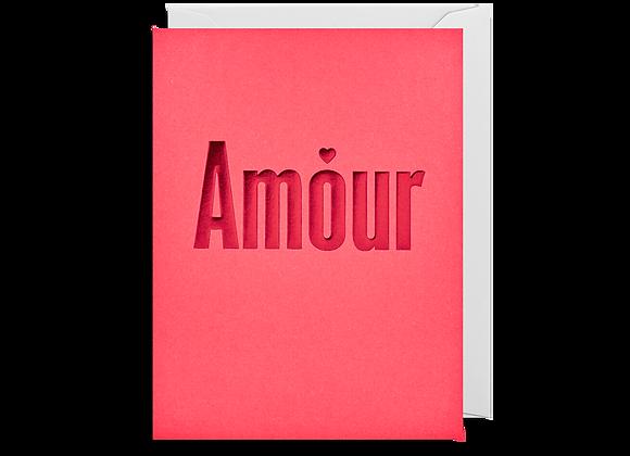 Mini Amour Card