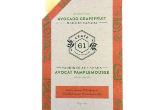 Crate 61 Avocado Grapefruit Soap