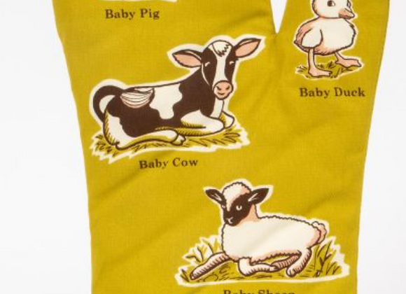 Learn Your Baby Animal Oven Mitt