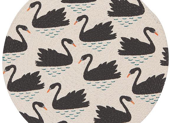 Swan Lake Braided Placemat