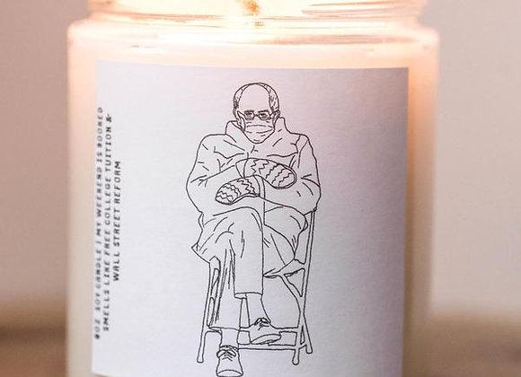 Bernie Sanders Candle