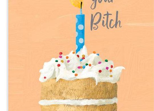 Cake B**ch Birthday Card