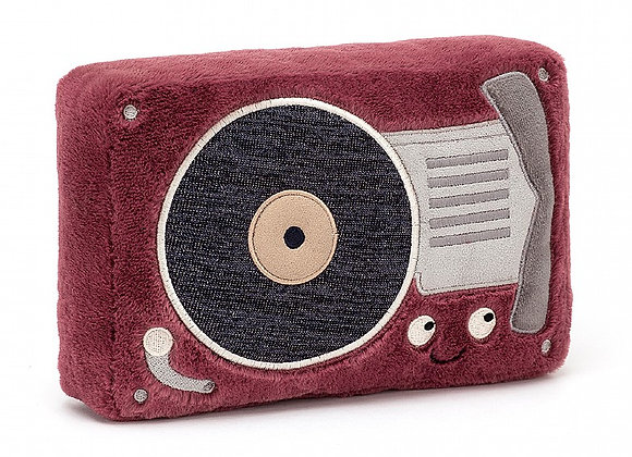 Wiggedy Record Player Plush