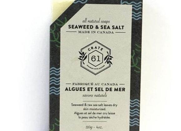 Crate 61 Seaweed & Seasalt Soap