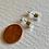 Thumbnail: Cylin Minimalistic Stud Earrings Silver