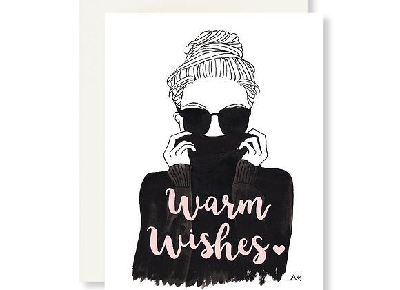 AKR Design - Warm Wishes Holiday Card