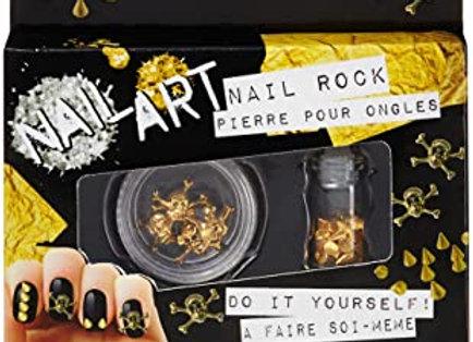 Manicure Nail Rock Seductive Silver Nail Art kit