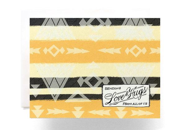 Camp Blanket Love Card