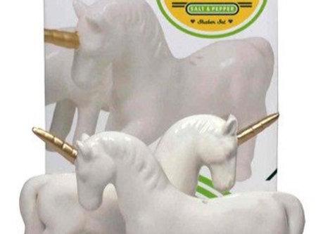 Porcelain Unicorn Salt & Pepper Shaker