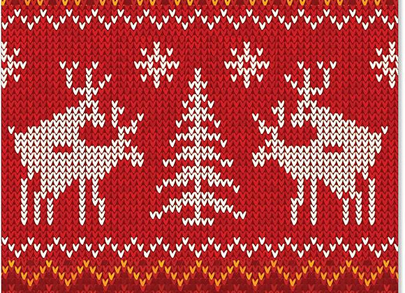 Reindeer Love Christmas Card