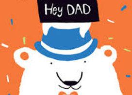 Hey Dad Polar Bears Card