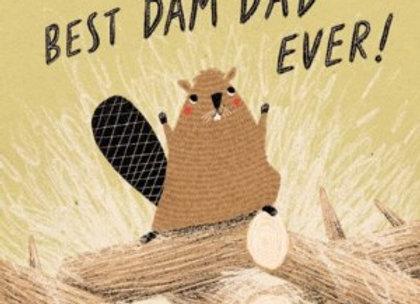 Best Dam Dad Ever Card