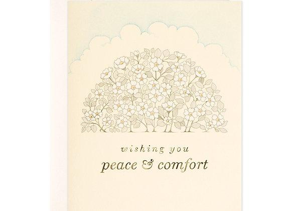 Peace & Comfort Card
