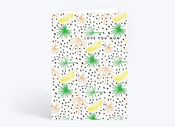 Palm For Mom Card