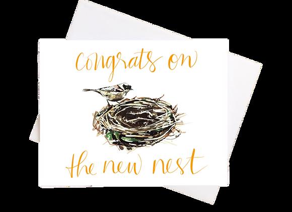 New Nest Blank Card