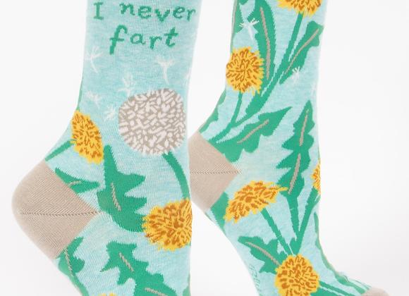Women's Crew Socks I Never Fart