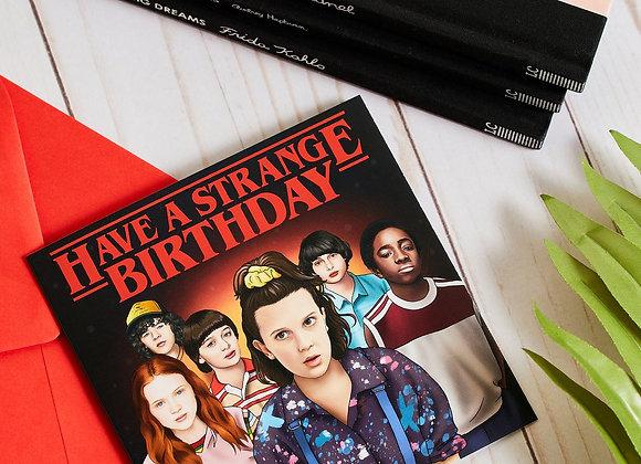 Strange Birthday Card