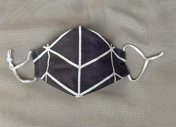 D Mask Grey & White