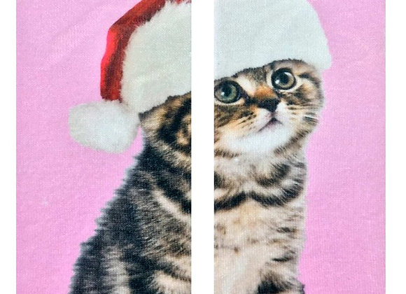 Santa Kitty - Ankle Socks