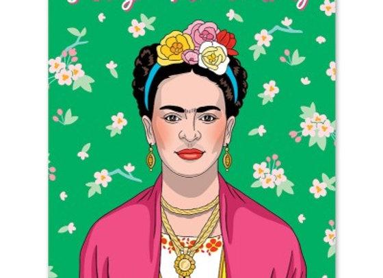 Artista mexicana Feliz Mother's Day Card