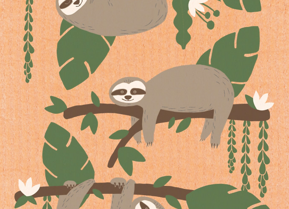 Sybil Sloth Ecologie Swedish Sponge Cloth
