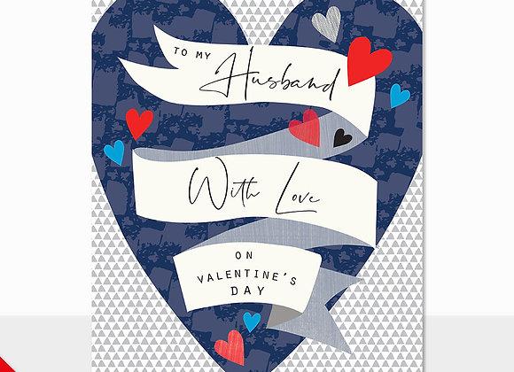 Husband Banner Card