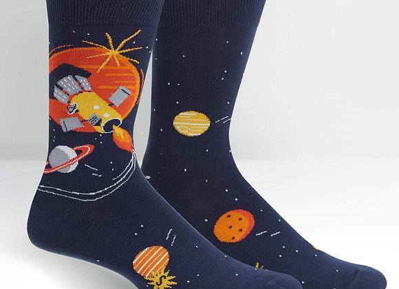 Fly Me To The Sun Socks