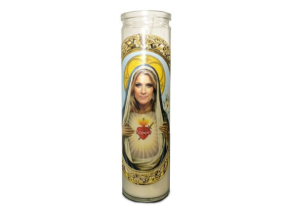 Saint Celine Dion Prayer Candle