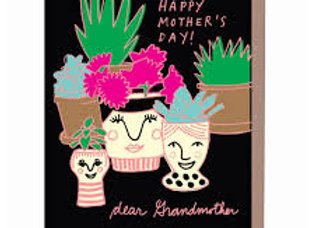 Grandma Vase Card