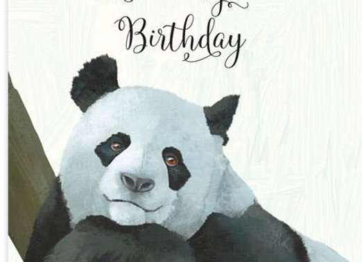 Fing Panda Card by 23rd Day