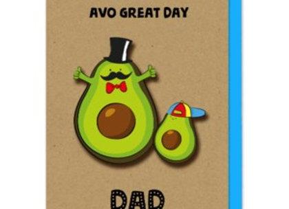 Avocado And Son Card