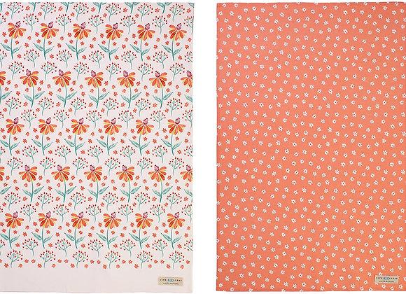 Ulster Weavers Sophie Conran Reka Cotton Tea Towel, 2 Pack