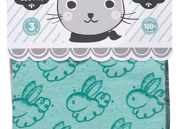 Dusting Cloth Bunny Set of 3