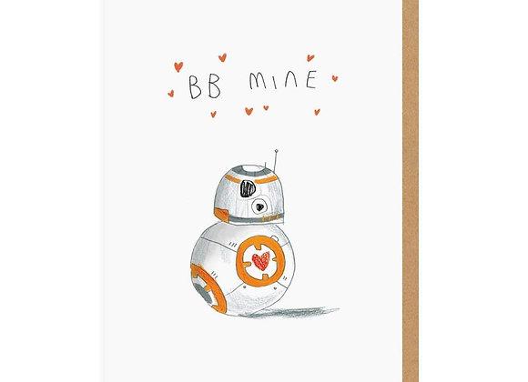 BB8 Be Mine Card