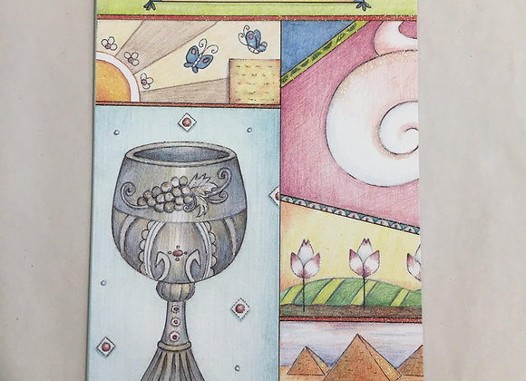 Pictura Passover Card