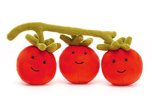 Vivacious Vegetable Tomato Plush Toy