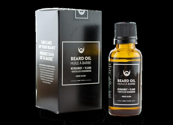 Beard Oil Bergamot & Ylang With Distilled Cedarwood