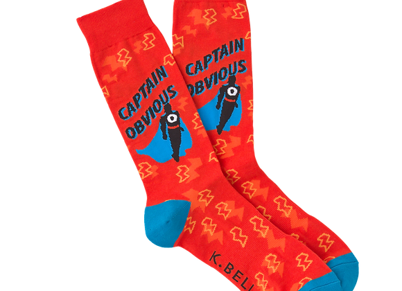 Captain Obvious - Socks