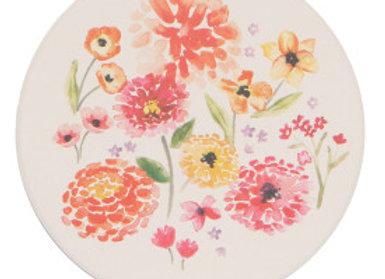 Cottage Floral Soak It Up Coaster Set of 4