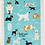 Thumbnail: People To Meet:  Dogs Dish Towel