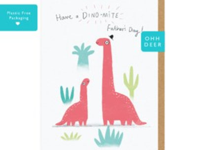 Dinomite Fathers Day Card