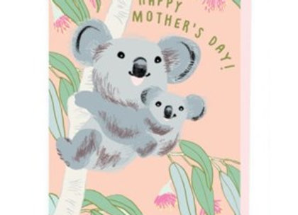 Koalas Mother's Day Card