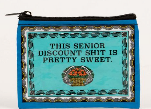 Senior Discount - Coin Purse