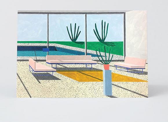 Interior 3 Pink Chair Card