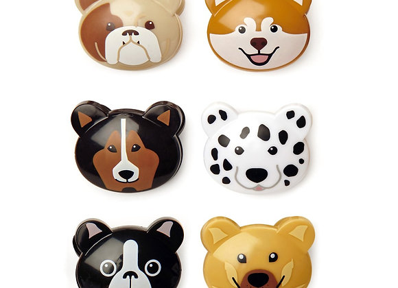 Doggie Bag Clips Set of 3 Assorted