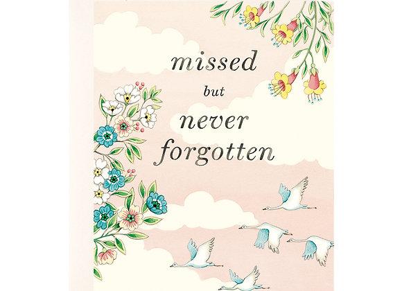 Never Forgotten Sympathy Card