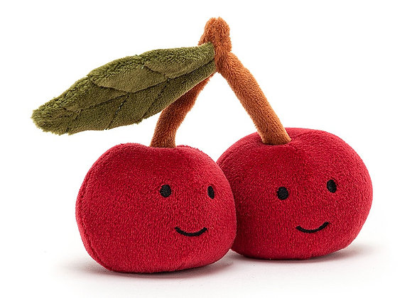 Fabulous Fruit Cherry Plush Toy