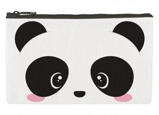 Funky Panda Cosmetic  - Zipper Pouch