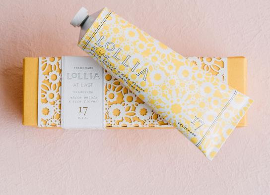 Lollia At Last Shea Butter Hand Cream