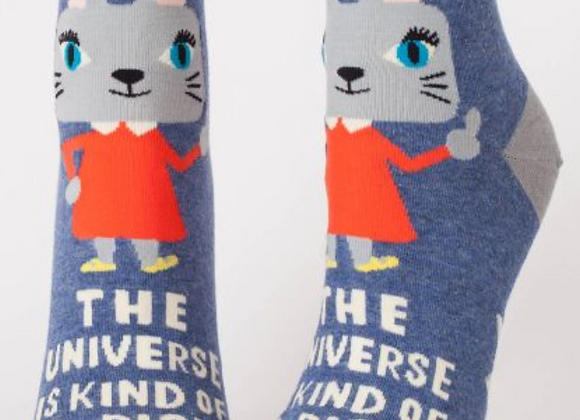 Ankle Socks The Universe Is Kind Of A Dick